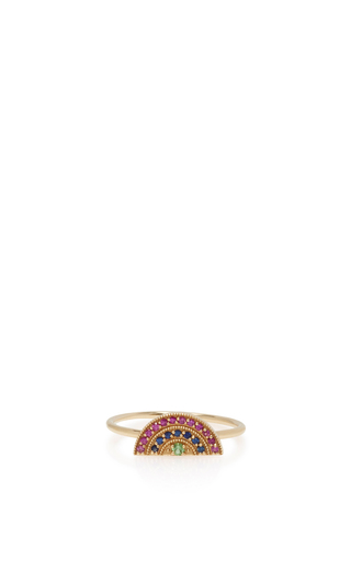 Medium andrea fohrman multi mini rainbow ring