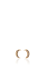 Mini Crescent Stud Earrings by ANDREA FOHRMAN Now Available on Moda Operandi