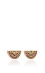 Mini Rainbow Stud Earrings by ANDREA FOHRMAN Now Available on Moda Operandi