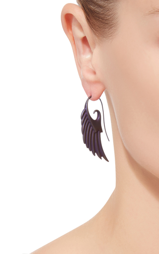 Fly Me To The Moon Earrings by NOOR FARES Now Available on Moda Operandi