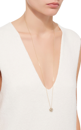 Geometry 101 Hollow Dodecahedron Pendant by NOOR FARES Now Available on Moda Operandi