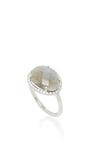 Labradorite Ring by NINA RUNSDORF Now Available on Moda Operandi