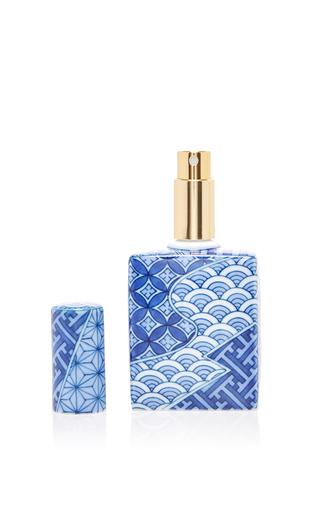 Medium hataman blue jimon perfume bottle
