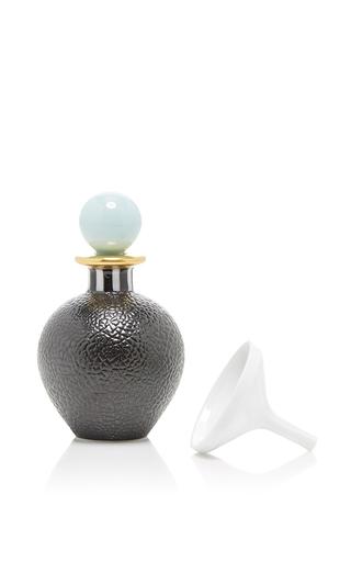 Medium hataman black cuir design perfume bottle 2