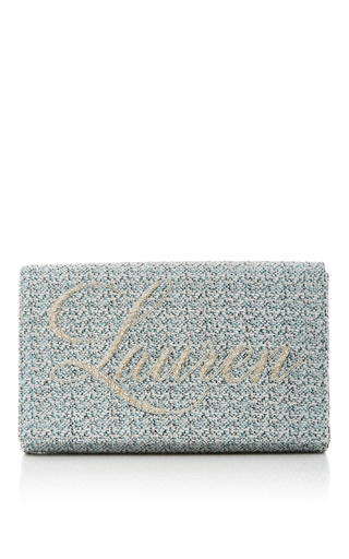 Medium preciously paris blue blue clutch