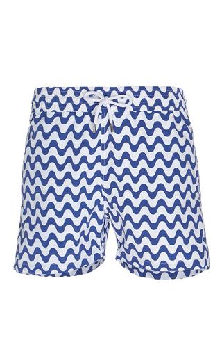 Medium frescobol carioca navy copacabana swim shorts