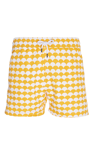 Medium frescobol carioca orange noronha swim shorts