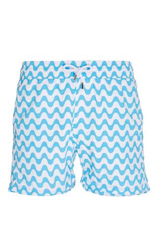 Medium frescobol carioca turquoise copacabana swim shorts 2
