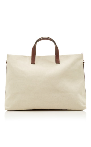 Medium frescobol carioca off white weekender tote