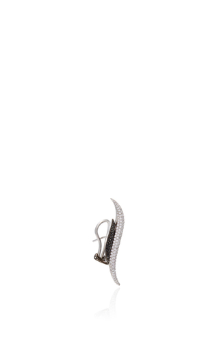 Golda Double S Diamond Earring by AS29 for Preorder on Moda Operandi