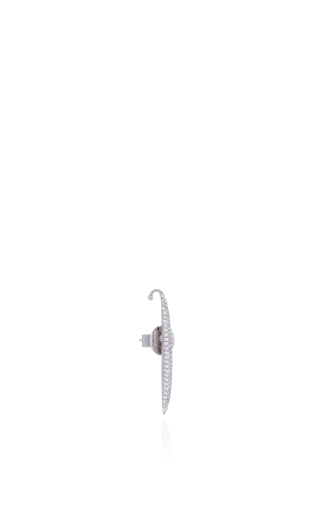 Golda Short Straight Diamond Earring by AS29 for Preorder on Moda Operandi