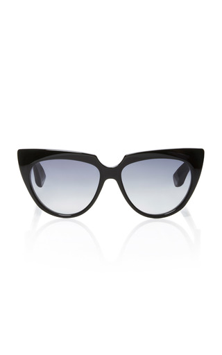 Medium jacques marie mage black edith sunglasses