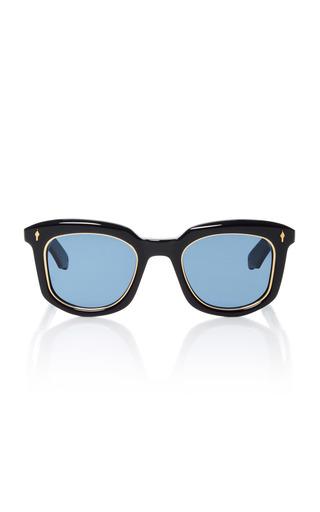 Medium jacques marie mage navy pasolini sunglasses