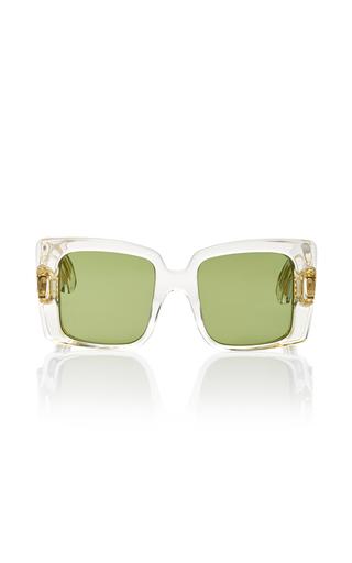 Medium jacques marie mage white liane sunglasses