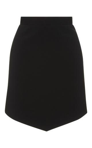 Medium david koma black asymmetrical hem skirt