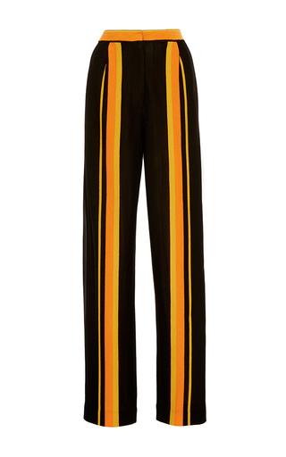Medium edun stripe jersey stripe drawstring pant
