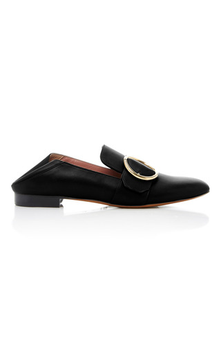 Medium bally black lottie soft loafer 2