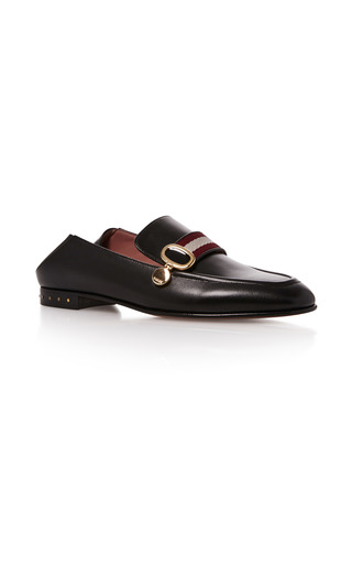 Medium bally black livilla soft loafer 3