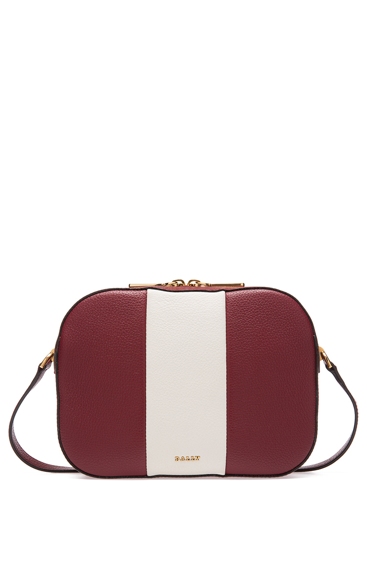Bally stripe shoulder bag Clearance Collections VXJcSuW