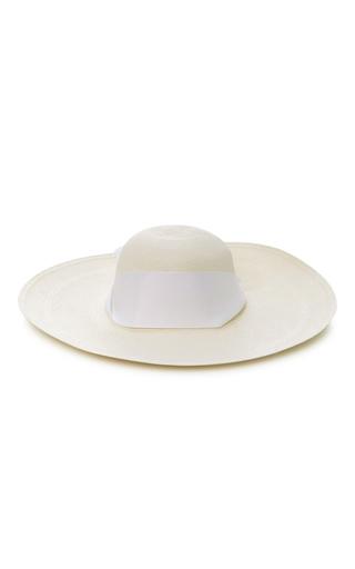 Medium sensi studio white maxi bow lady ibiza hat 2