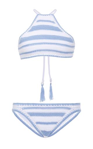 Medium suboo stripe desert muse crochet bikini
