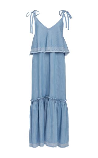 Medium suboo blue outlaw maxi dress