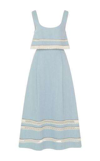 Medium zayan the label blue shereen long dress