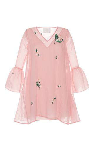 Medium zayan the label light pink veronica bell sleeve dress
