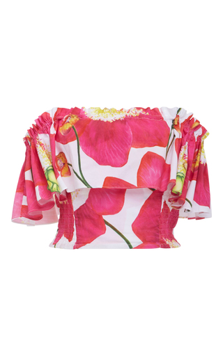Medium isolda floral amanda off the shoulder top