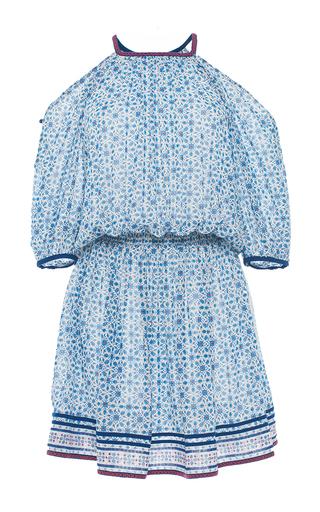 Medium talitha print leela cold shoulder dress