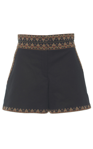 Medium talitha black meena high waist shorts