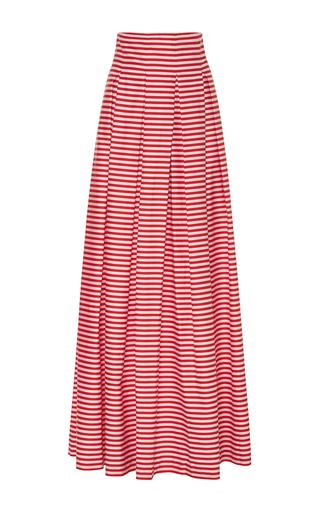 Medium mds stripes stripe inverted pleat ball skirt