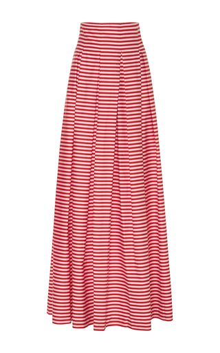 Medium mds stripes stripe inverted pleat ball skirt