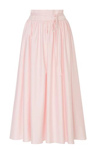 Medium mds stripes pink high waist peasant skirt