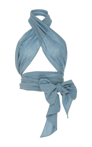 Medium mds stripes blue blue everything scarf