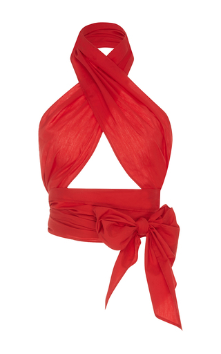 Medium mds stripes red red everything scarf