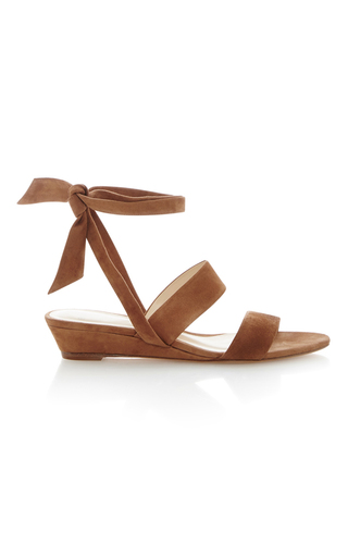 Medium alexandre birman tan yanna leather sandal