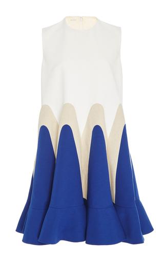Medium delpozo multi sleeveless shift dress