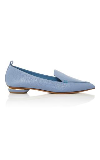 Medium nicholas kirkwood light blue sky blue beya leather loafers
