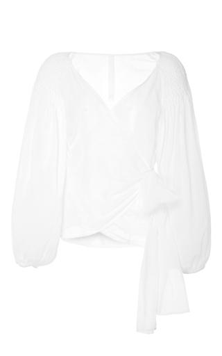 Medium merlette white the sant josep blouse