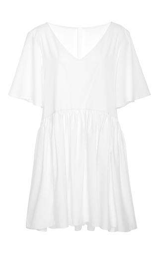 Medium merlette white the clemente dress