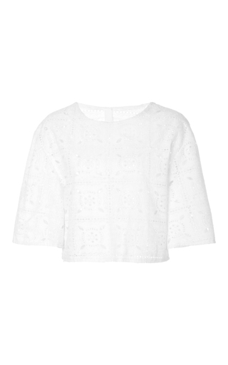 Medium merlette white the st malo top