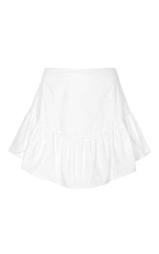 Medium merlette white the flotte skirt