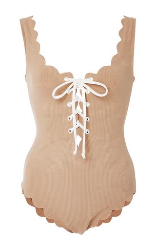 Medium marysia swim nude palm springs tie maillot