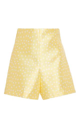 Medium leal daccarett yellow medea silk short