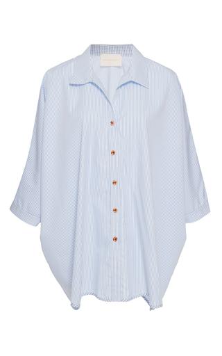 Medium leal daccarett stripe nia oversized shirt