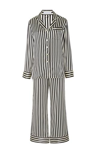 Medium olivia von halle stripe lila nika pajama set