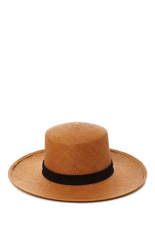 Medium janessa leone brown bernt bolero hat