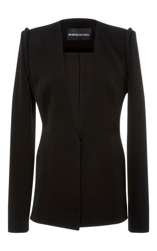 Medium brandon maxwell black tailored suiting jacket
