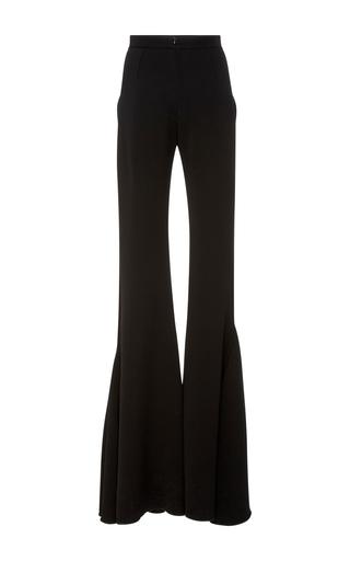 Floor Length Flared Pants by BRANDON MAXWELL for Preorder on Moda Operandi